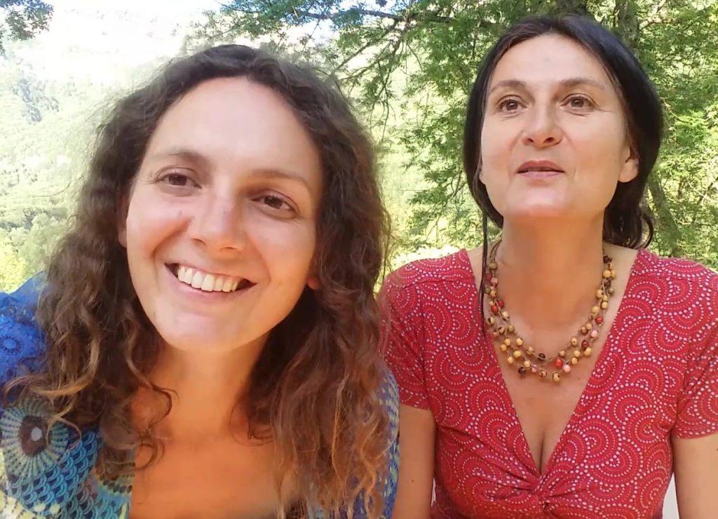 Elise Ferran et Line Celestrano (Tantra Chamanisme)
