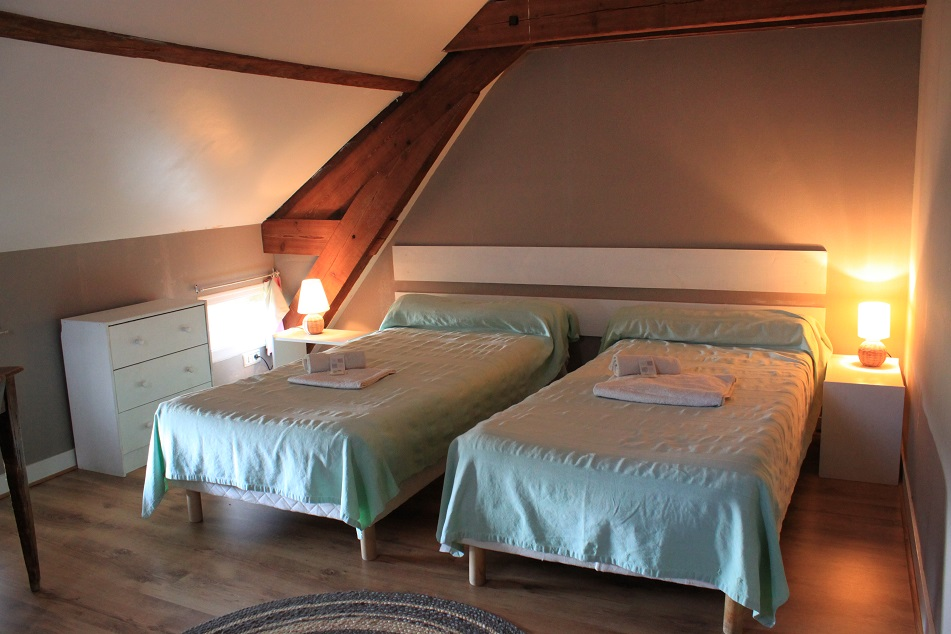 logis aulanays chambre